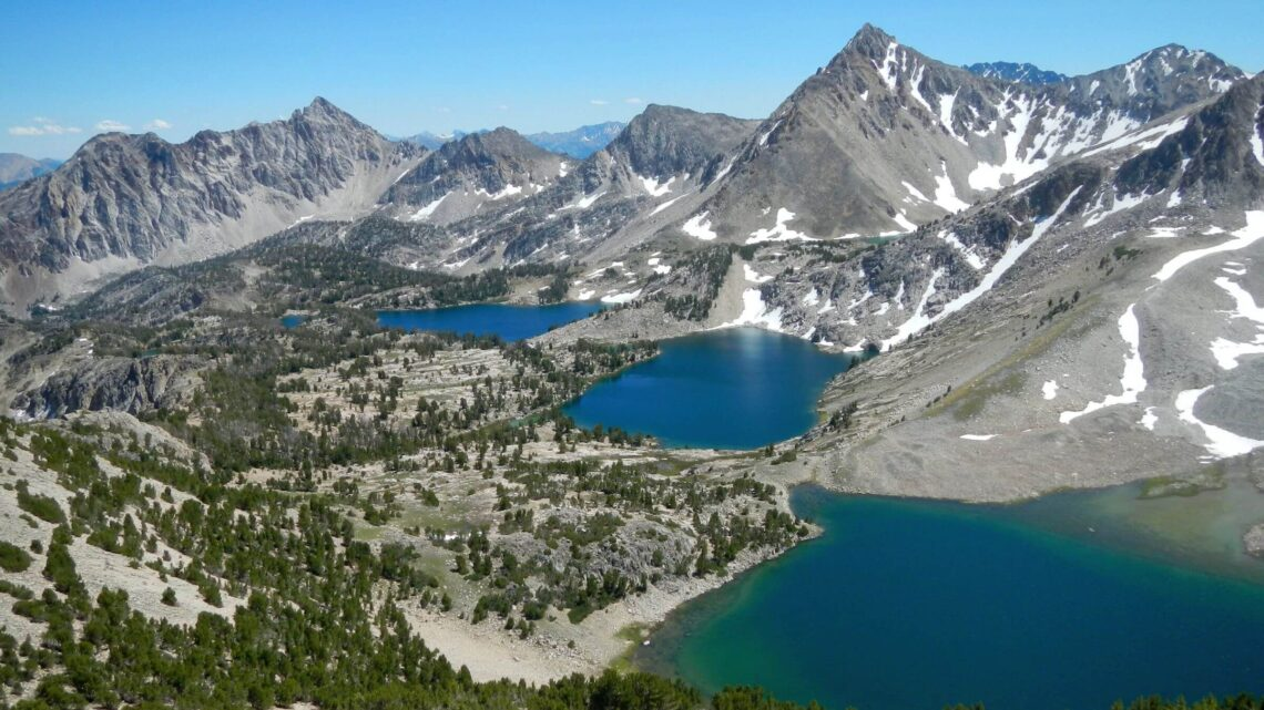 Idaho Cecil D. Andrus-White Clouds Wilderness Big Boulder Lakes